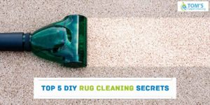 DIY Rug Cleaning