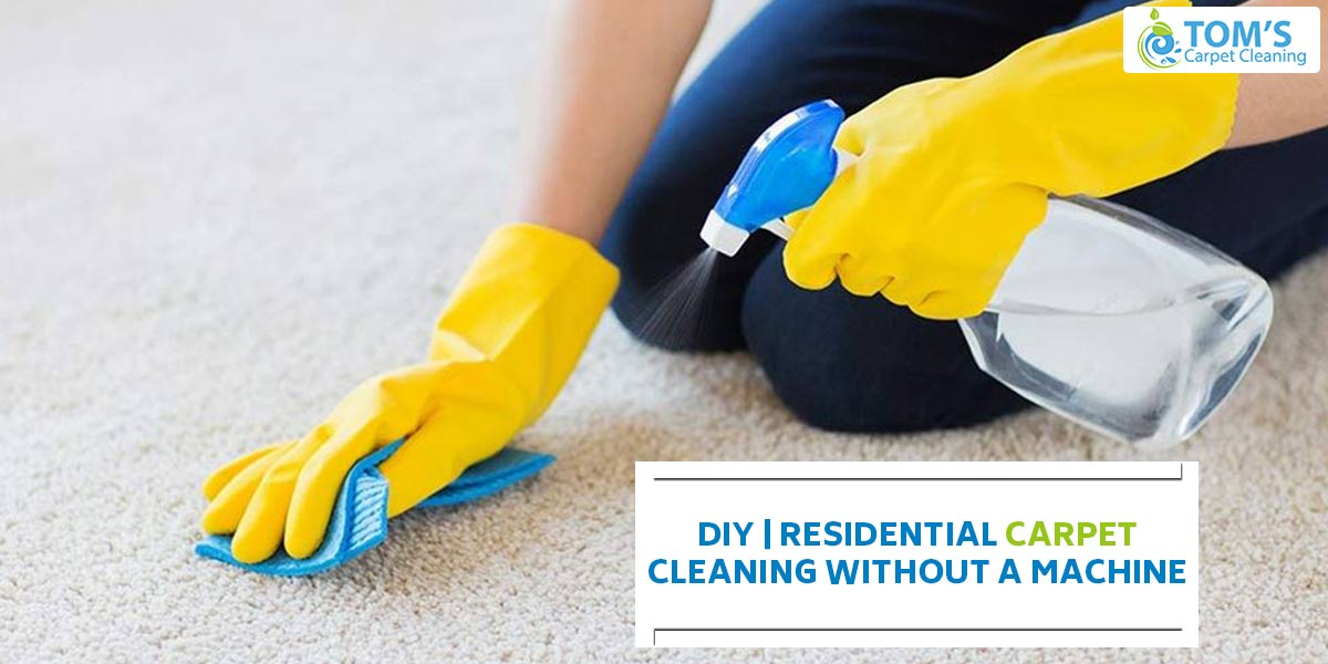 DIY | Residential Carpet Cleaning without a Machine