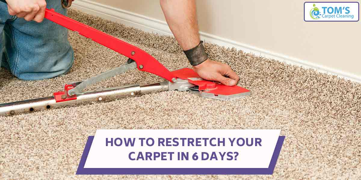 How To Restretch Your Carpet In 6 Days?