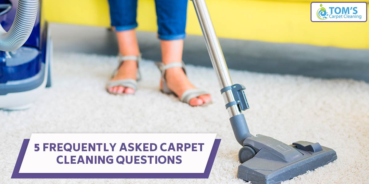 5 Frequently Asked Carpet Cleaning Questions