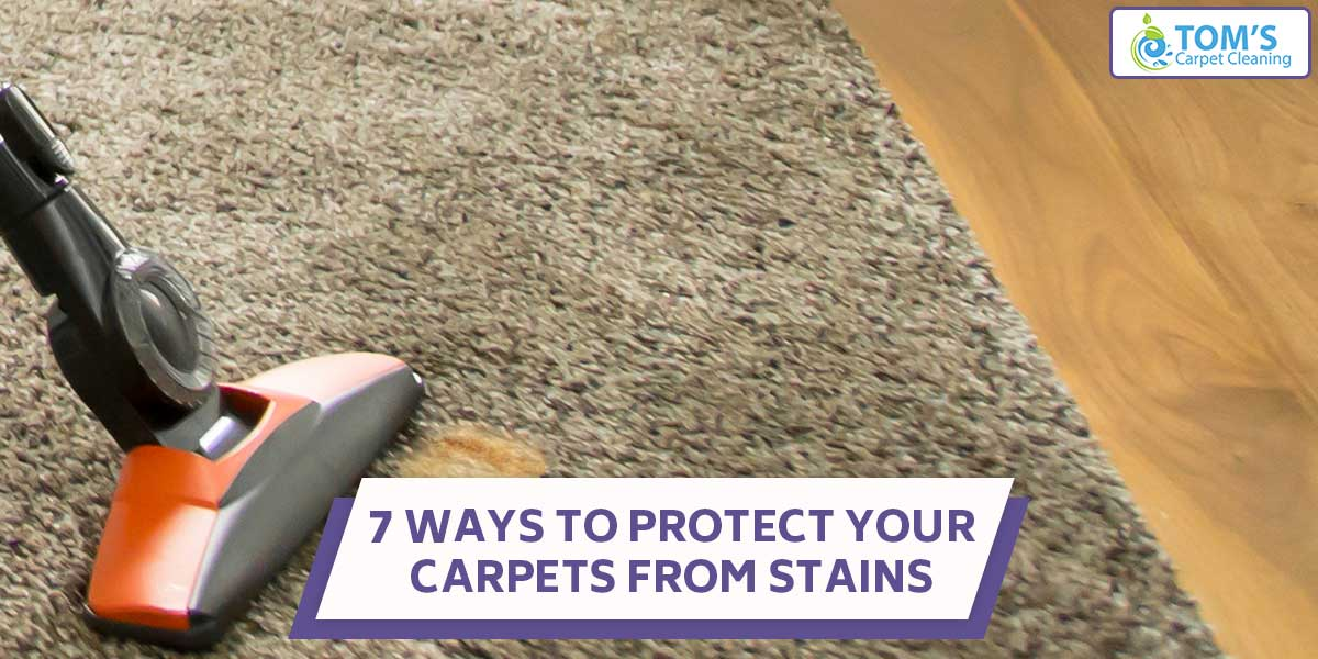 7 Ways To Protect Your Carpets From Stains