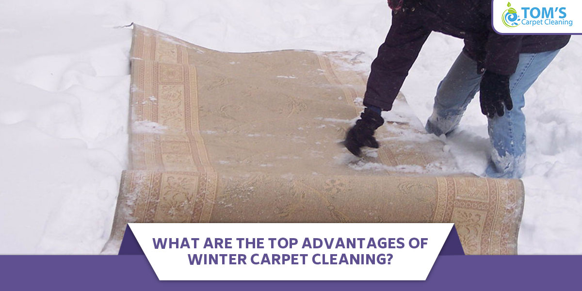 What Are the Top Advantages of Winter Carpet Cleaning