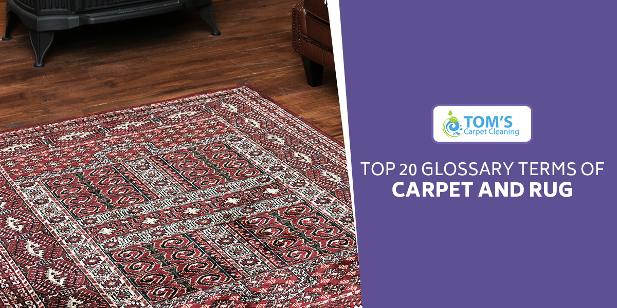 Top 20 Glossary Terms of Carpet and Rug