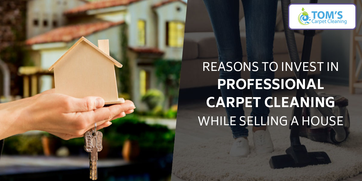 Reasons to Invest in Professional Carpet Cleaning while Selling a House