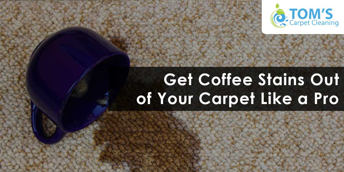 Get Coffee Stains Out of Your Carpet Like a Pro