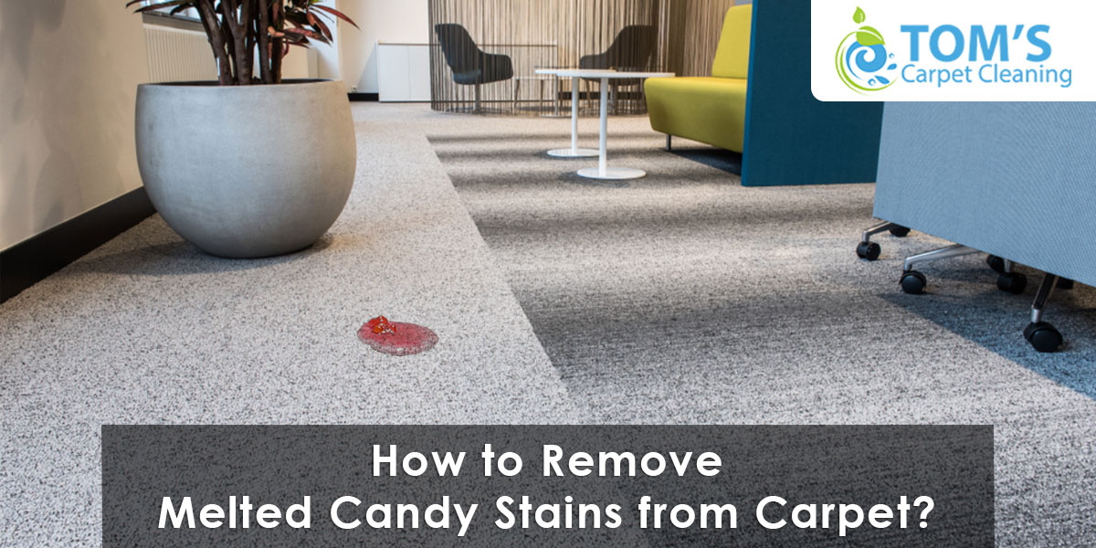 How to Remove Melted Candy Stains from Carpet