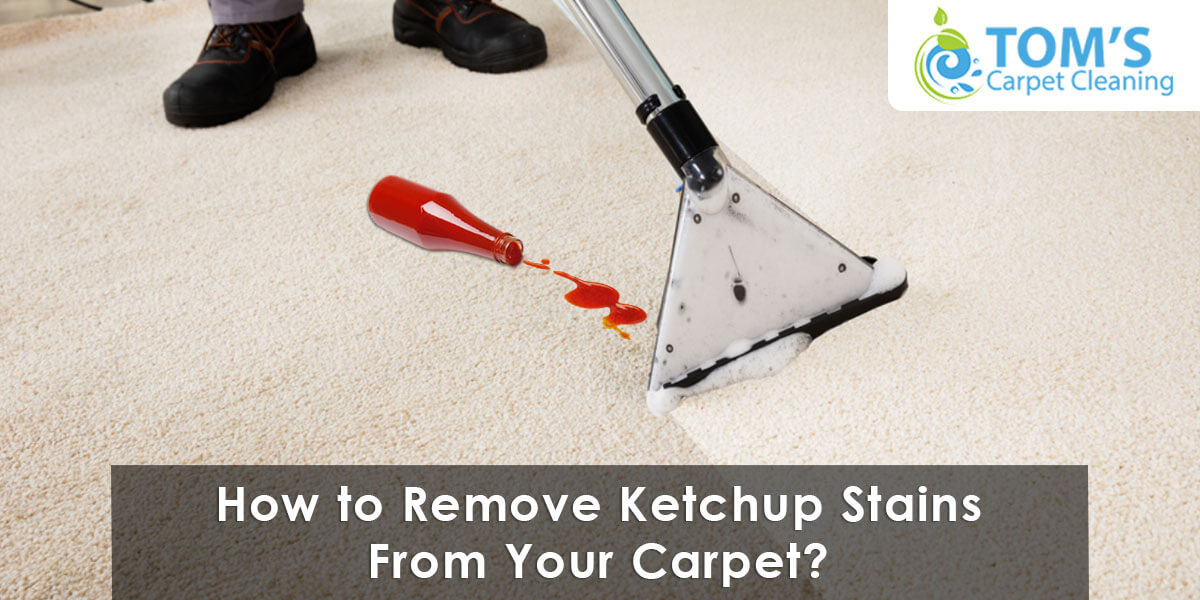 How to Remove Ketchup Stains From Your Carpet?